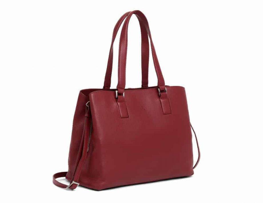 279892 ADAX Cormorano shopper veske Fanny scarlet fra siden