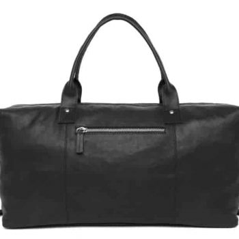 291246 ADAX Catania weekend bag Lasse Sort Forside