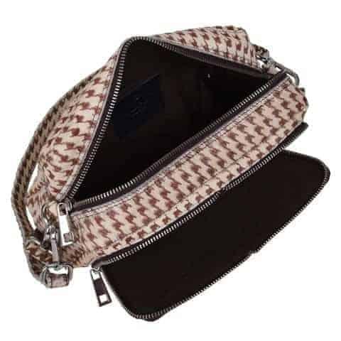 291614 ADAX Rubicone shoulder bag Victoria - graphic open