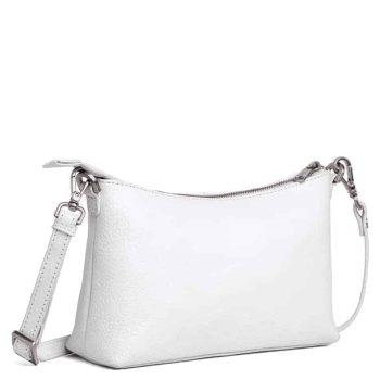 293792 ADAX Cormorano shoulder bag Smilla - hvit side