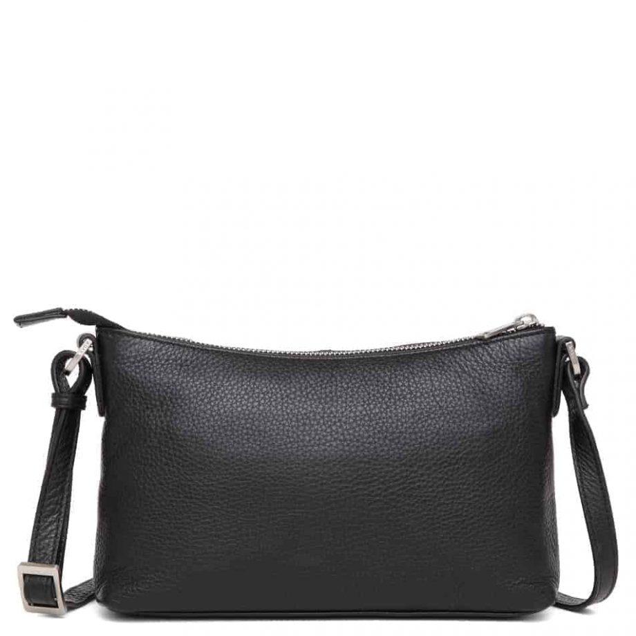 293792 ADAX Cormorano shoulder bag Smilla - sort forside