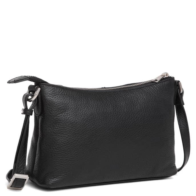 293792 ADAX Cormorano shoulder bag Smilla - sort side