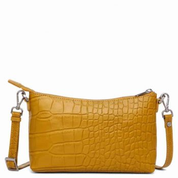 293796 Adax Teramo shoulder bag Smilla - mustard forside