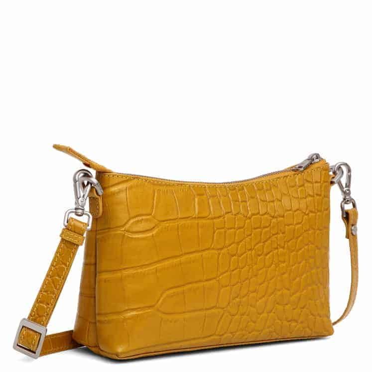 293796 Adax Teramo shoulder bag Smilla - mustard side