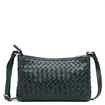 293799 ADAX Bacoli shoulder bag Smilla_green_skulderveske__foran