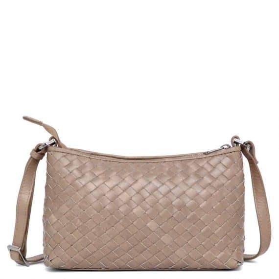 293799 ADAX Bacoli shoulder bag Smilla_latte_skulderveske__forside