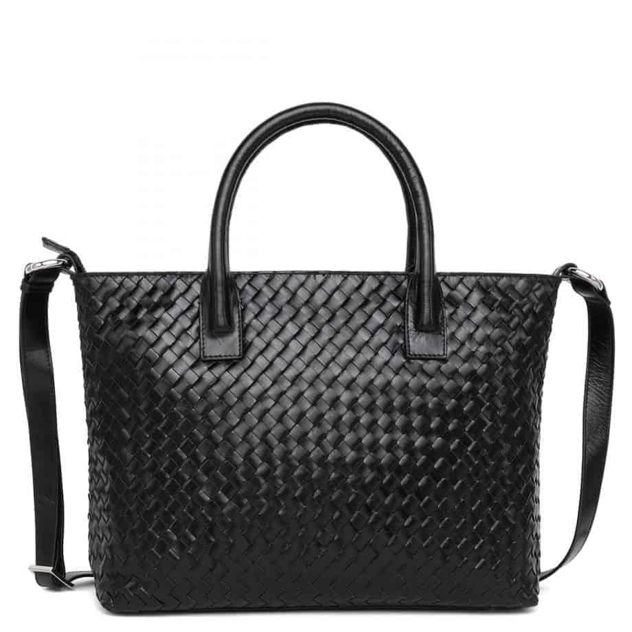 294299 ADAX Bacoli shoulder bag Vilde sort forside