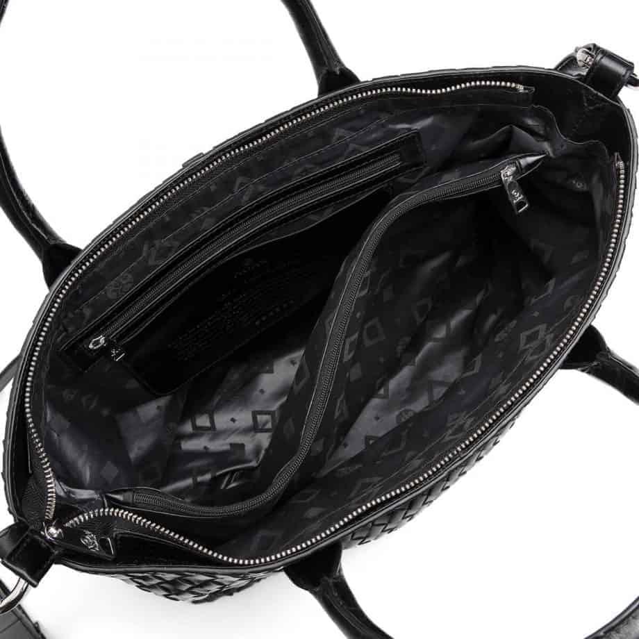 294299 ADAX Bacoli shoulder bag Vilde sort innside