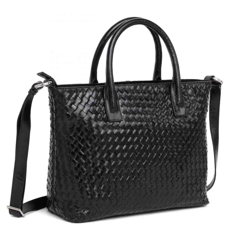 294299 ADAX Bacoli shoulder bag Vilde sort side