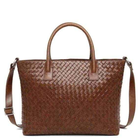 294299 ADAX Bacoli shoulder bag Vilde_brown_brun_skulderveske_foran