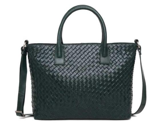 294299 ADAX Bacoli shoulder bag Vilde_green_skulderveske_foran
