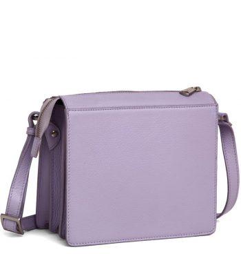 294592 ADAX Cormorano shoulder bag Delta - light purple side