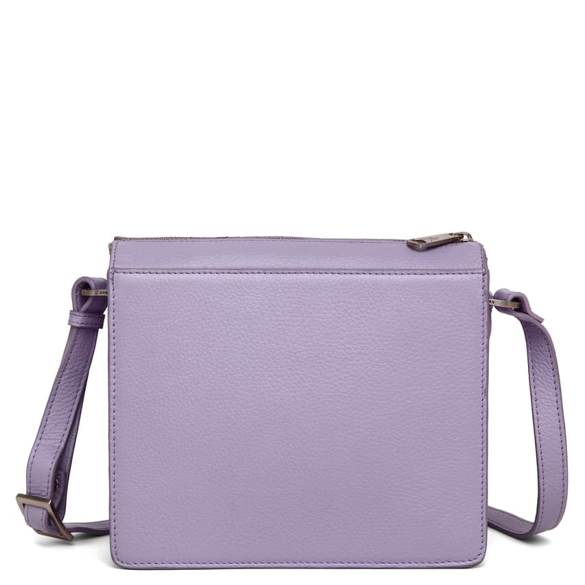 294592 ADAX Cormorano shoulder bag Delta - light purple forside