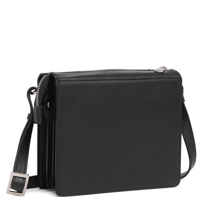 294592 ADAX Cormorano shoulder bag Delta - sort side