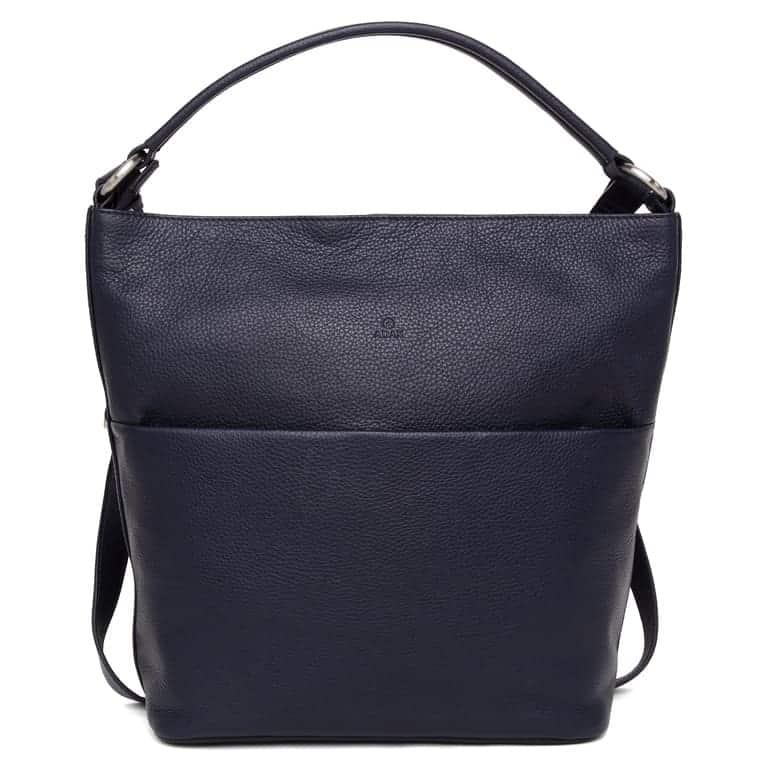 294692 ADAX Cormorano shoulder bag Felia - navy forside