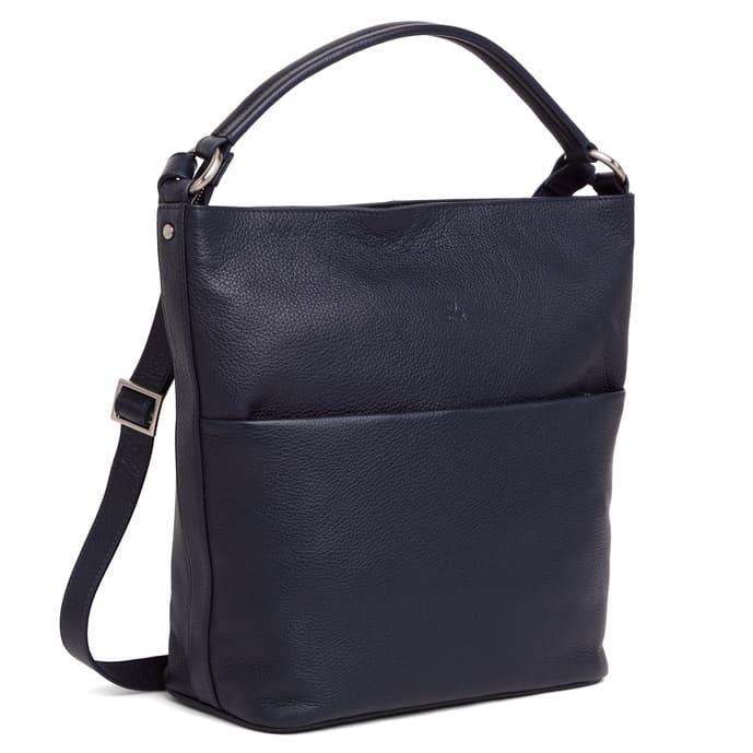 294692 ADAX Cormorano shoulder bag Felia - navy side