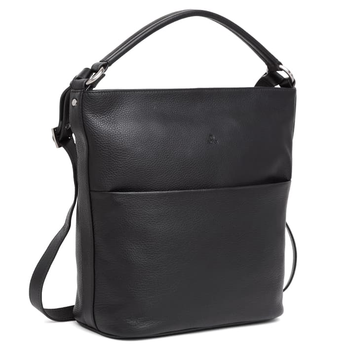 294692 ADAX Cormorano shoulder bag Felia - sort side