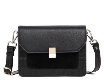 297200 Adax Berlin shoulder bag Petra - sort forside