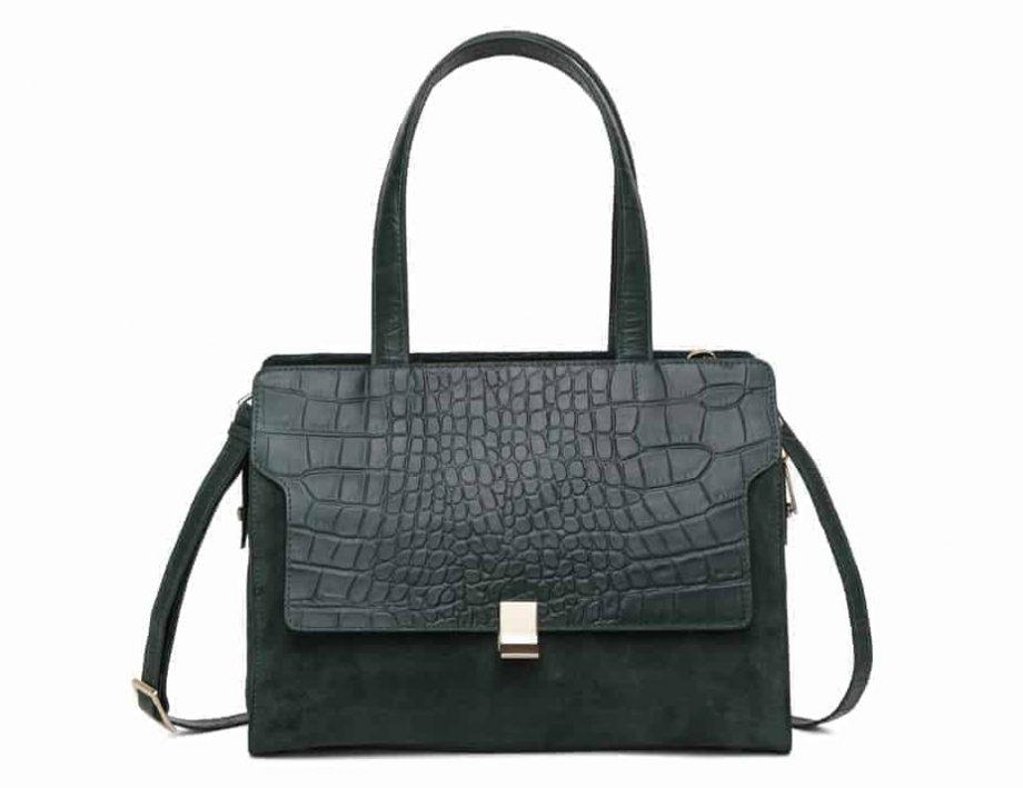 297400 Adax Berlin handbag Vega - grønn forside