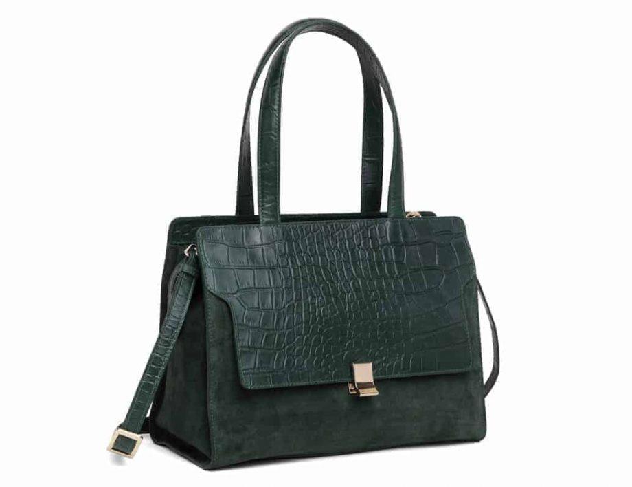 297400 Adax Berlin handbag Vega - grønn side