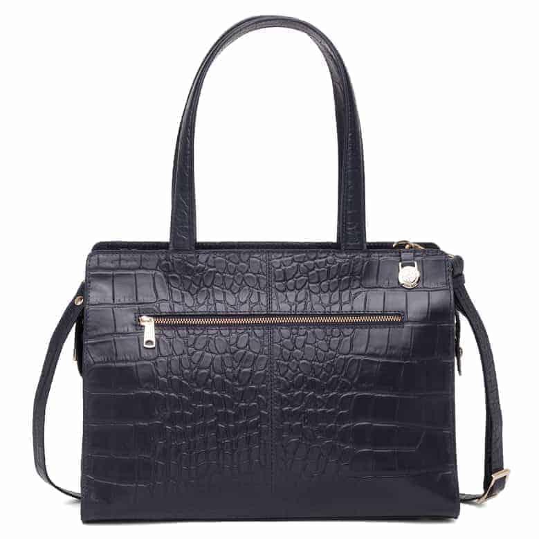 297400 Adax Berlin handbag Vega - marine bakside