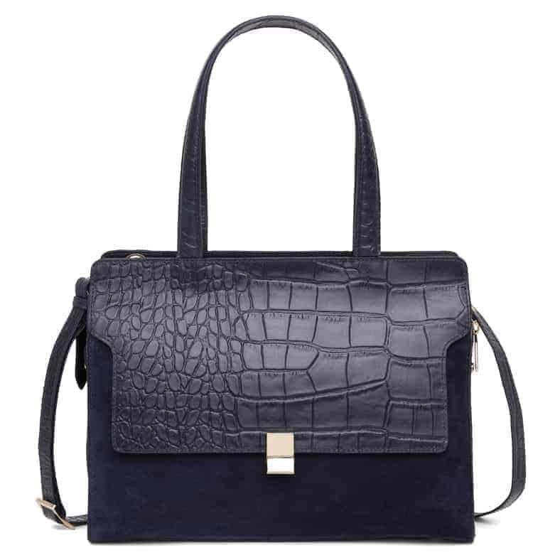 297400 Adax Berlin handbag Vega - marine forside