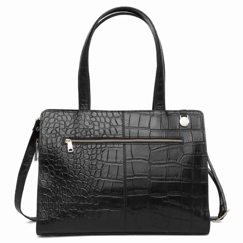 297400 Adax Berlin handbag Vega - sort bakside