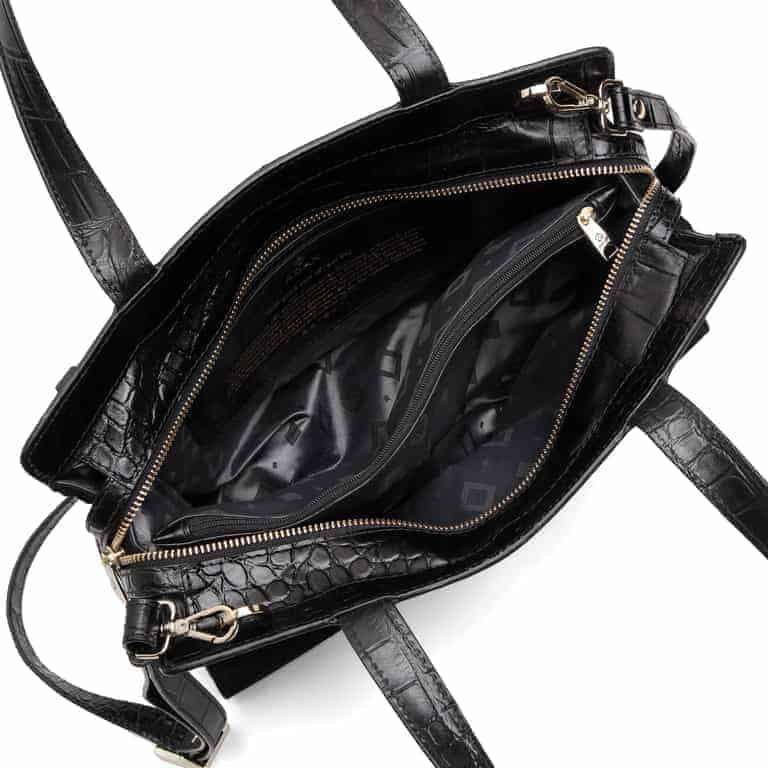 297400 Adax Berlin handbag Vega - sort open