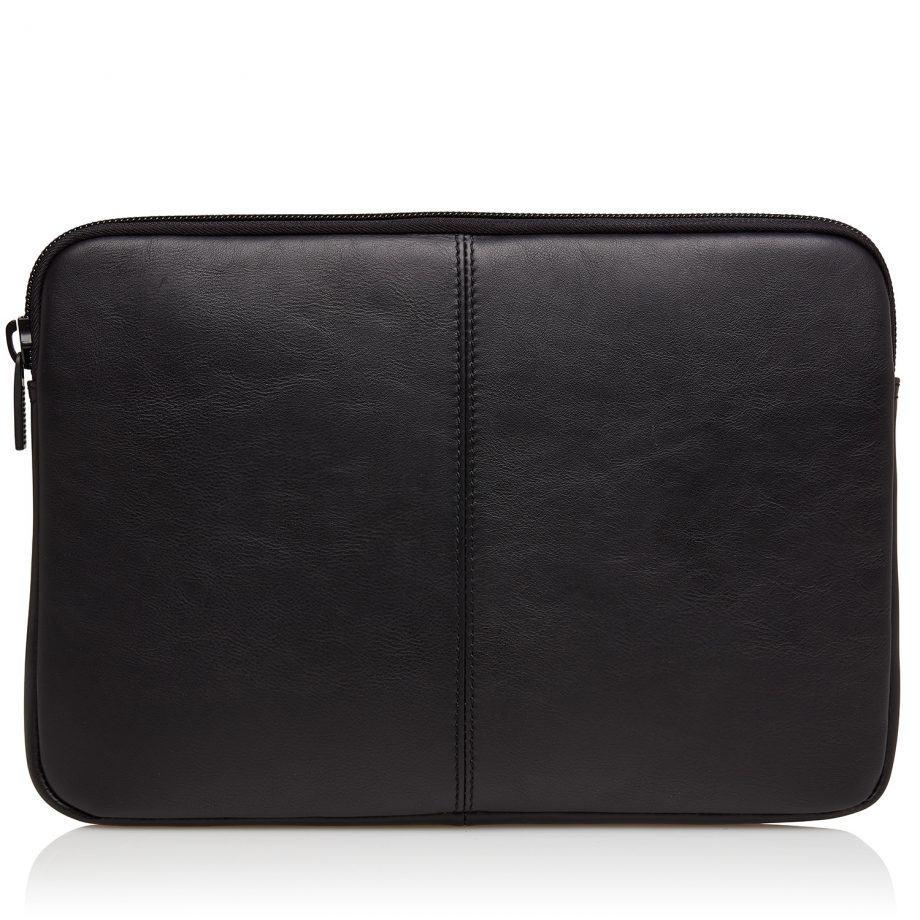40 9248 Castelijn Beerens Oscar laptop sleeve 13 Sort Bakside