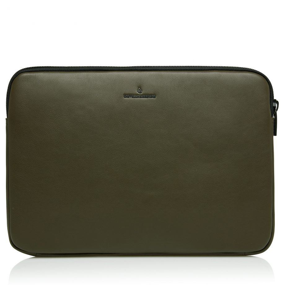 40 9249 Castelijn Beerens Mike laptop sleeve Army Forside
