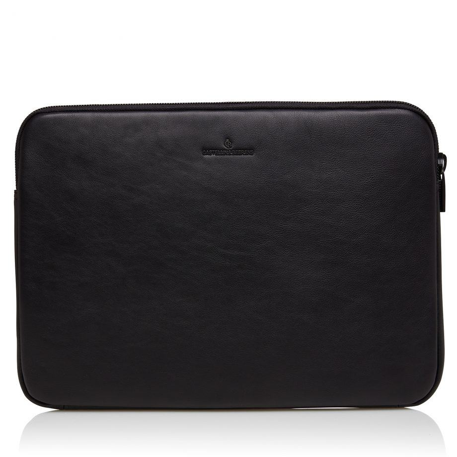 40 9249 Castelijn Beerens Mike laptop sleeve Sort Forside