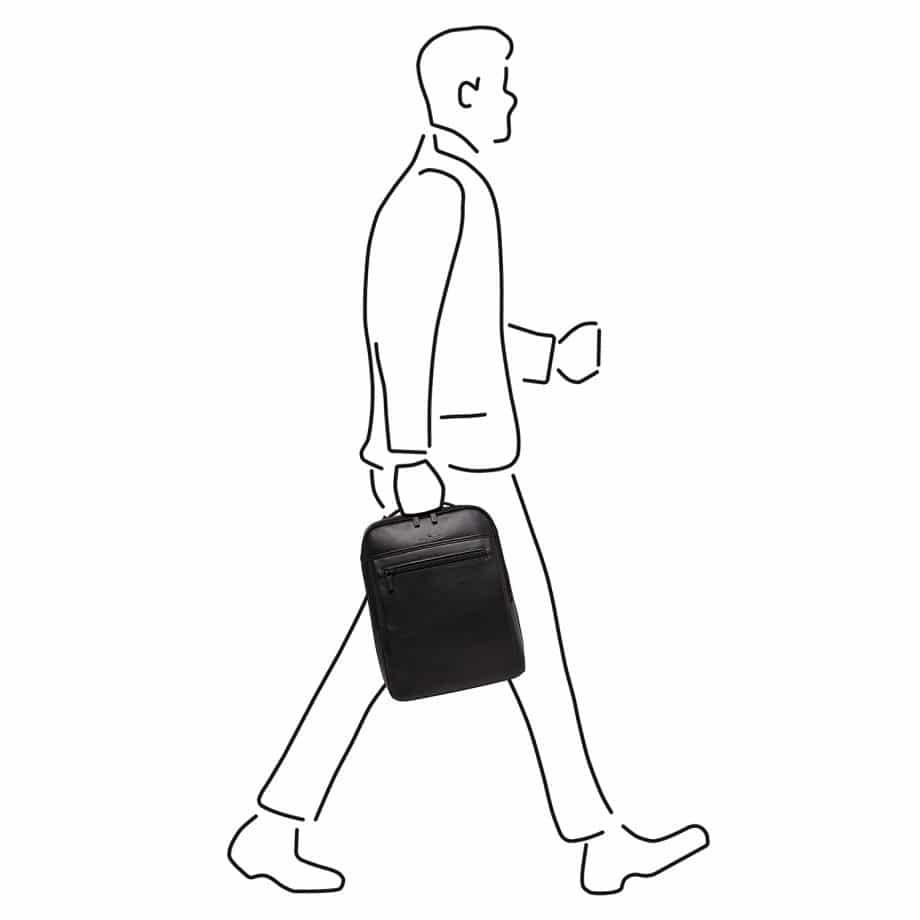 40 9576 Castelijn Beerens Victor backpack sort illustrasjon