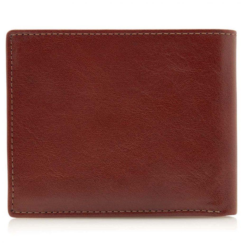 42 4288 Castelijn & Beerens - Gaucho - 8 Card Billford Wallet - cognac bakside