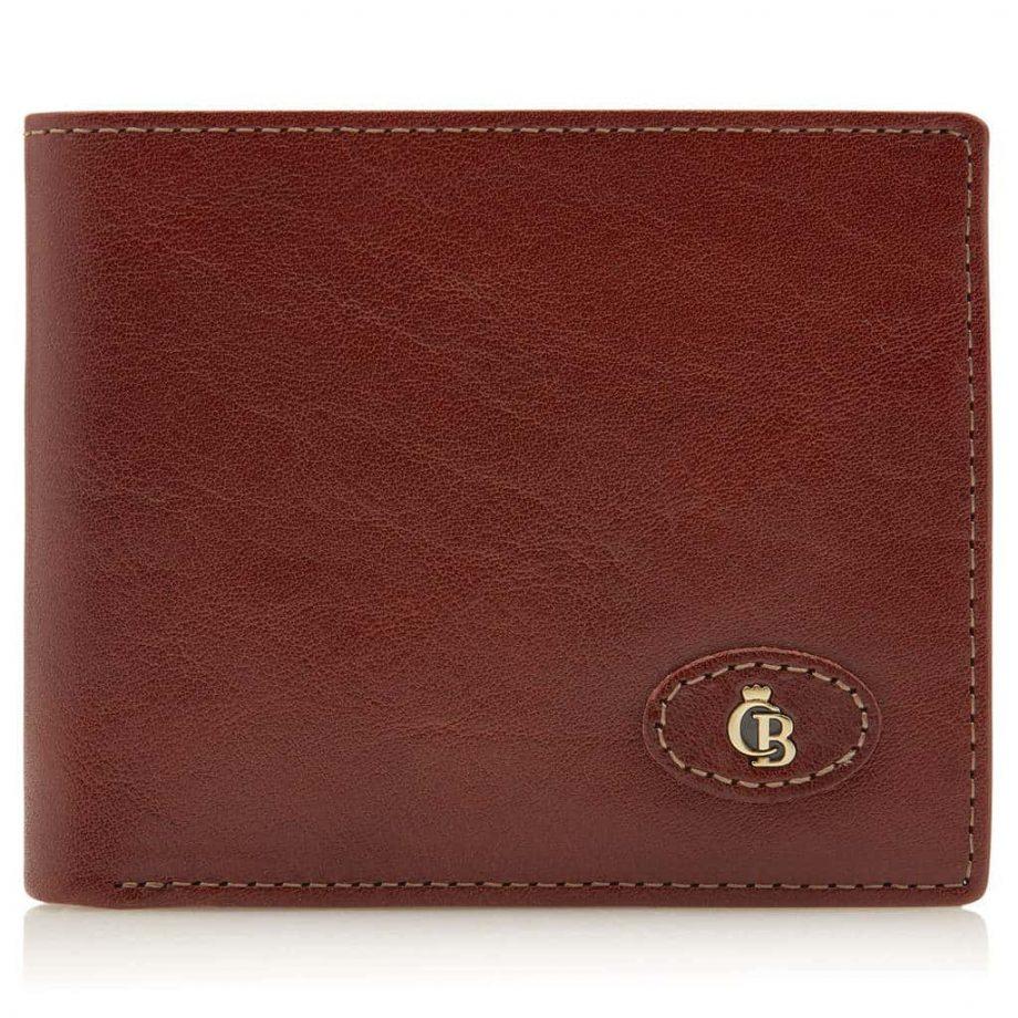 42 4288 Castelijn & Beerens - Gaucho - 8 Card Billford Wallet - cognac forside