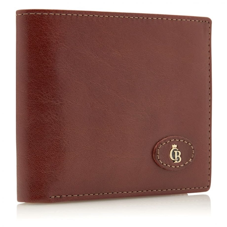 42 4288 Castelijn & Beerens - Gaucho - 8 Card Billford Wallet - cognac - fra siden