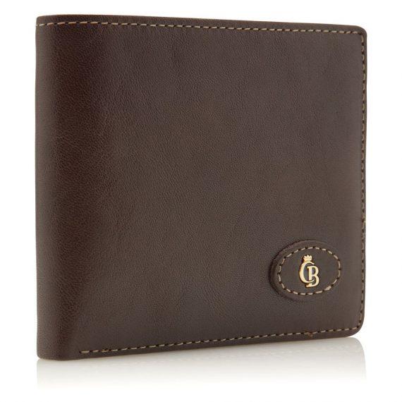 42 4288 Castelijn & Beerens - Gaucho - 8 Card Billford Wallet - mocca fra siden