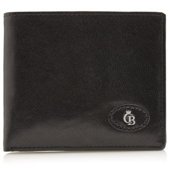42 4288 Castelijn & Beerens - Gaucho - 8 Card Billford Wallet - sort forside