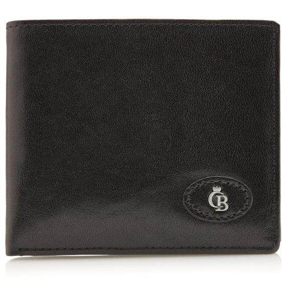 42 4288 Castelijn & Beerens - Gaucho - 8 Card Billford Wallet - sort forside