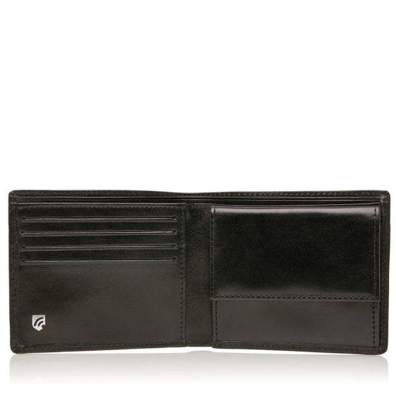 42 4288 Castelijn & Beerens - Gaucho - 8 Card Billford Wallet - sort open innside