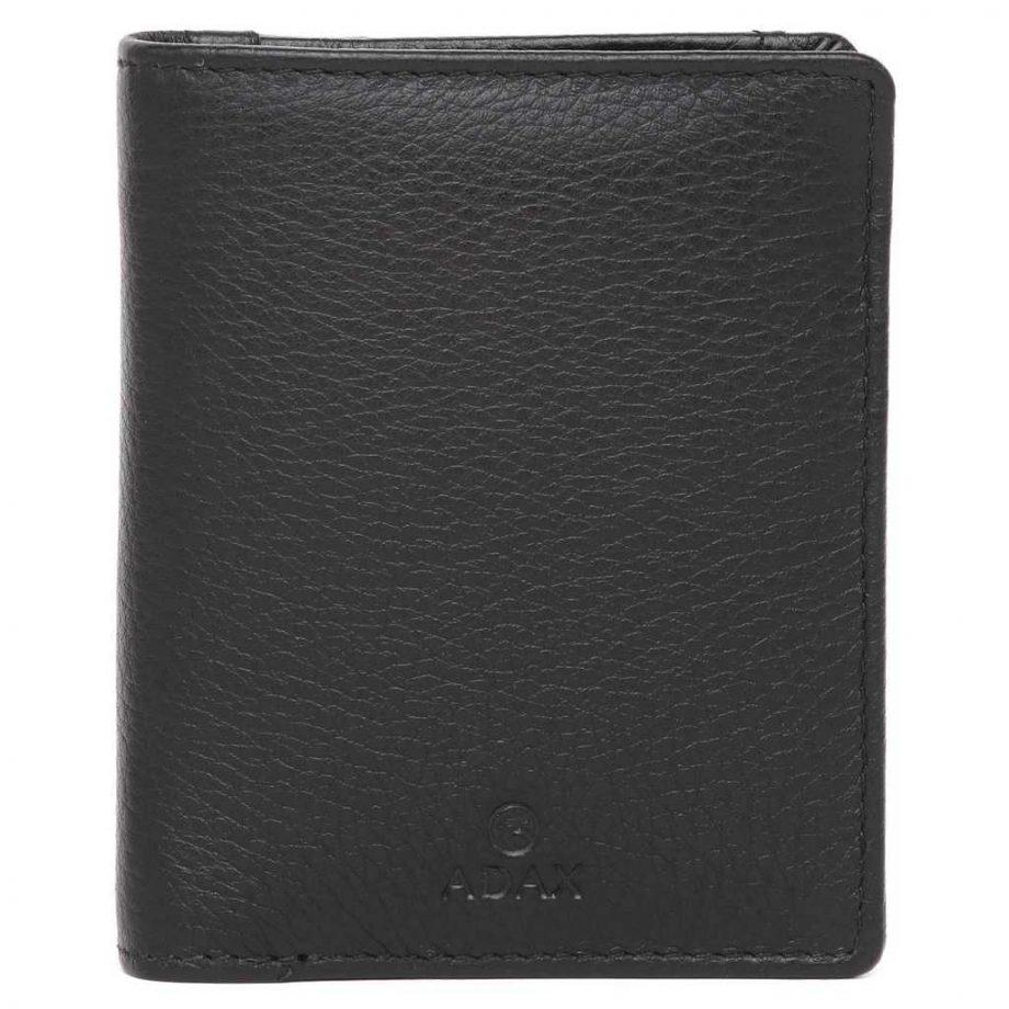 455292 Cormorano wallet Ninni Sort Forside