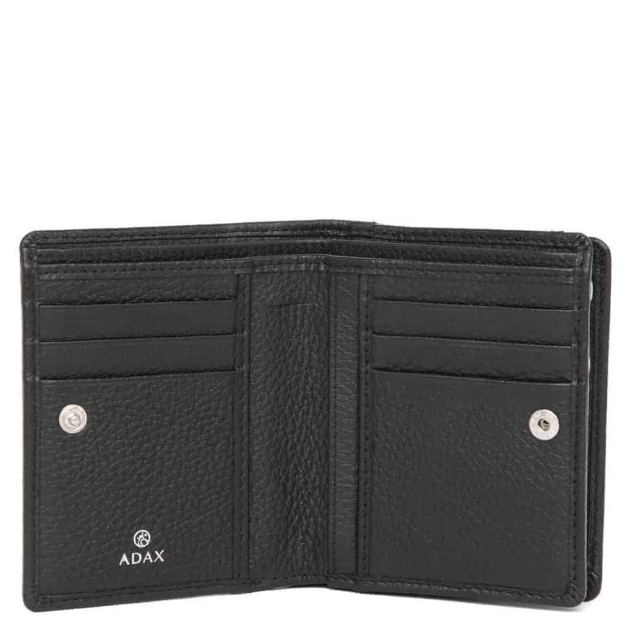 455292 Cormorano wallet Ninni Sort Open