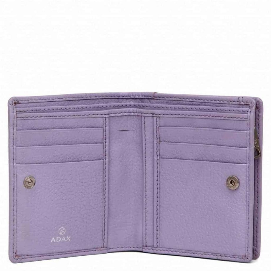455292 Cormorano wallet Ninni Light Purple Open