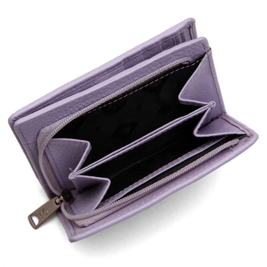 455292 Cormorano wallet Ninni Light Purple Open 2