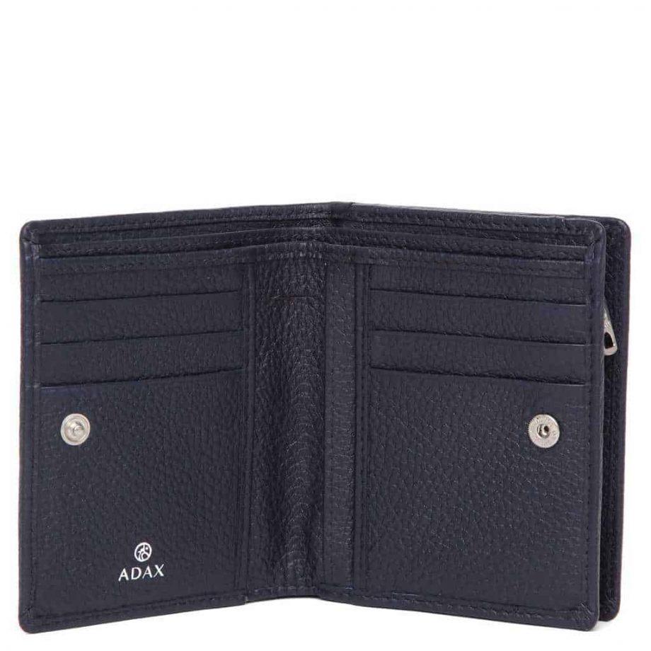 455292 Cormorano wallet Ninni Navy Open