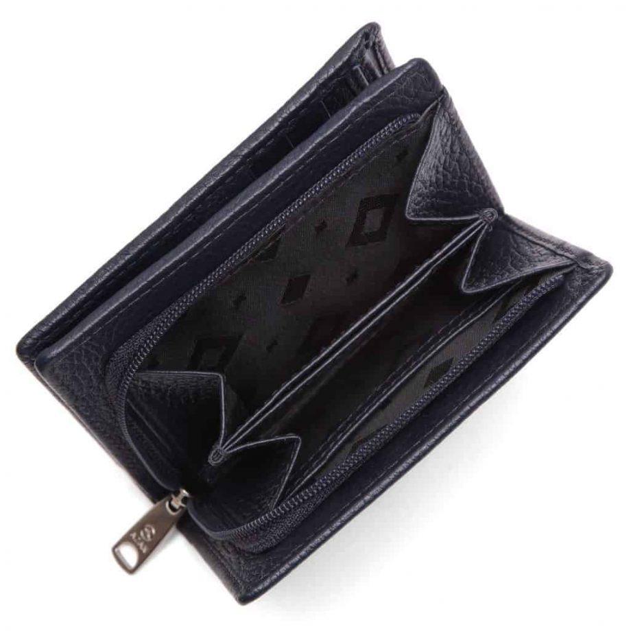 455292 Cormorano wallet Ninni Navy Open 2