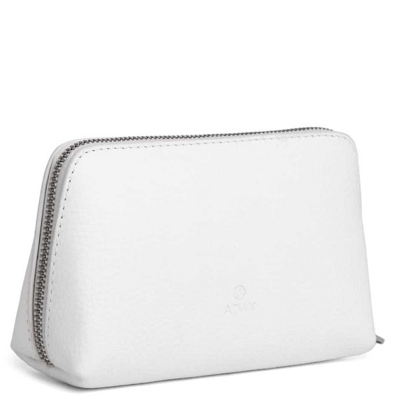 462192 ADAX Cormorano purse Vanilla - hvit side