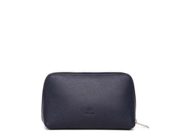 462192 ADAX Cormorano purse Vanilla - navy forside