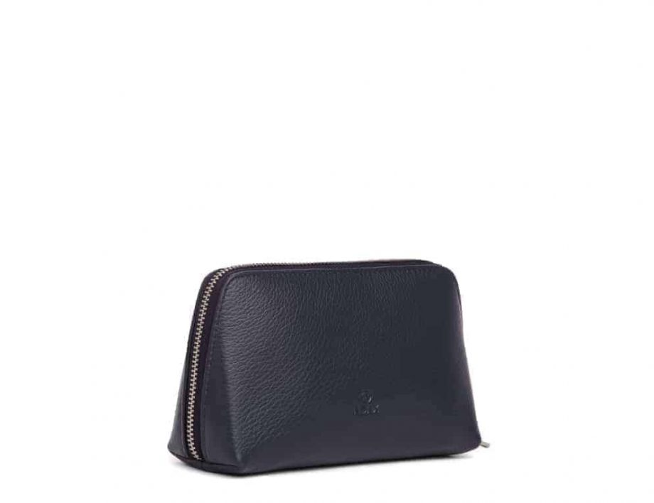 462192 ADAX Cormorano purse Vanilla - navy side