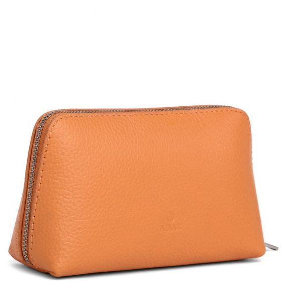 462192 ADAX Cormorano purse Vanilla - peach side