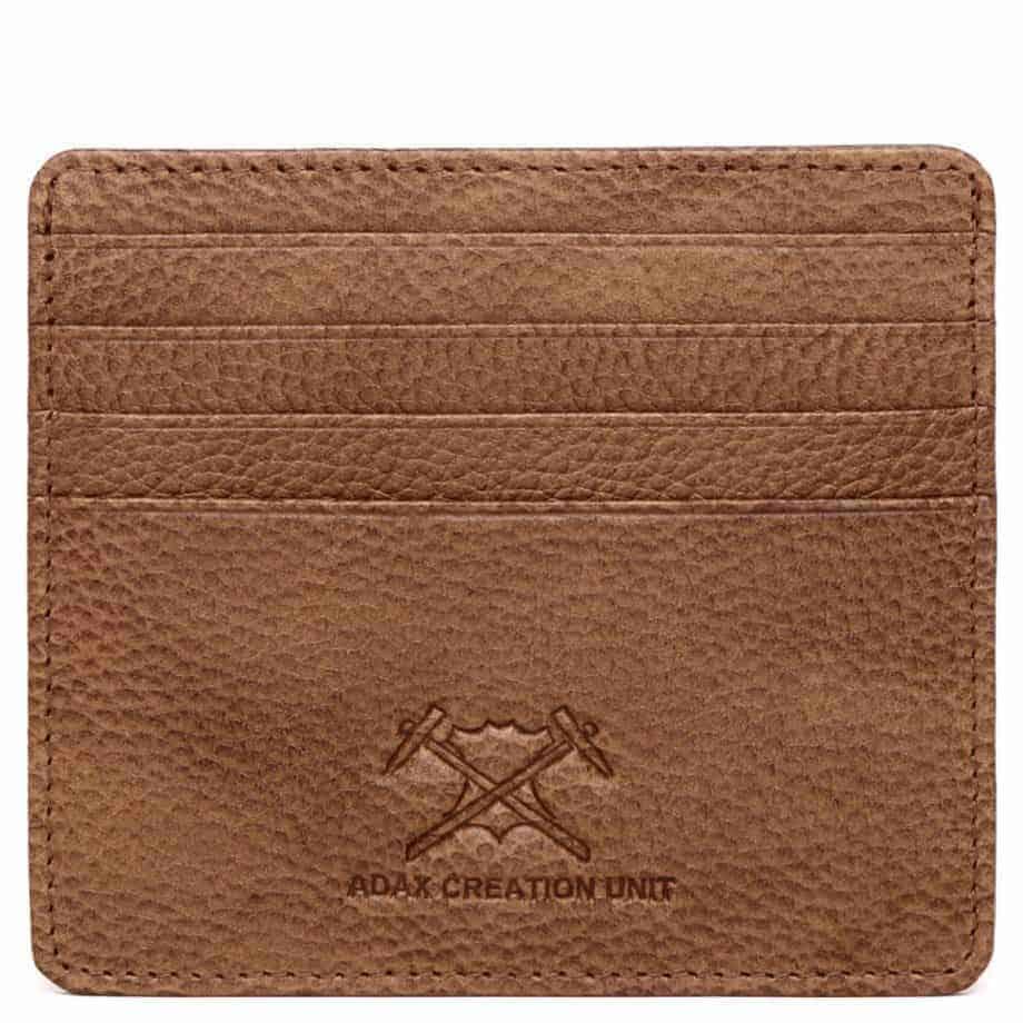 464725 Adax Napoli Card Holder Keld Cognac Forside